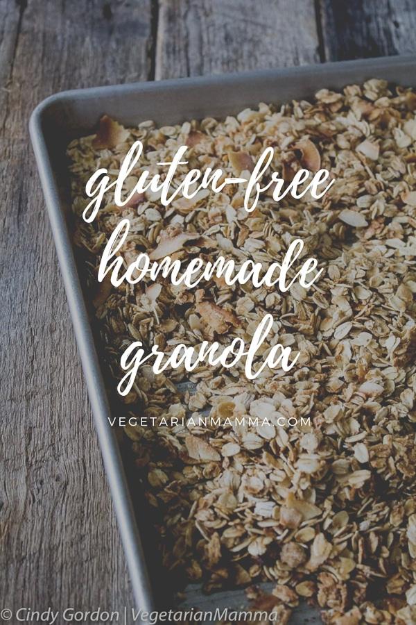 Gluten Free Granola Homemade