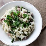 Roasted Asparagus Risotto – the perfect dinner