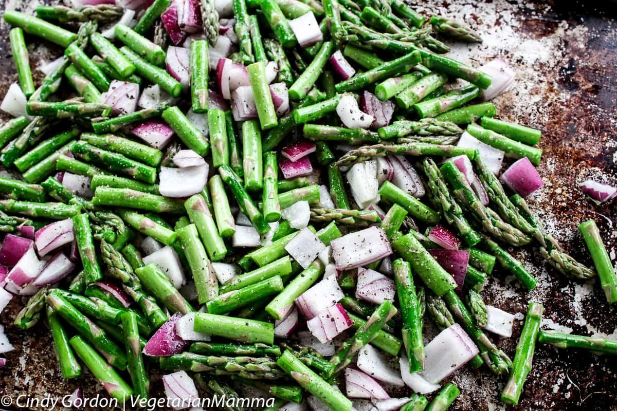 Roasted Asparagus Risotto @Vegetarianmamma.com