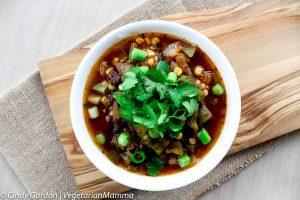 Southwest Corn and Black Bean Soup