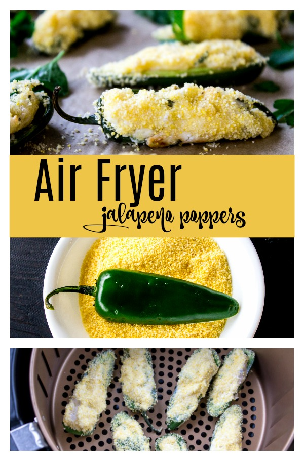 Air Fryer Jalapeno Poppers are a quick and delicious snack.
