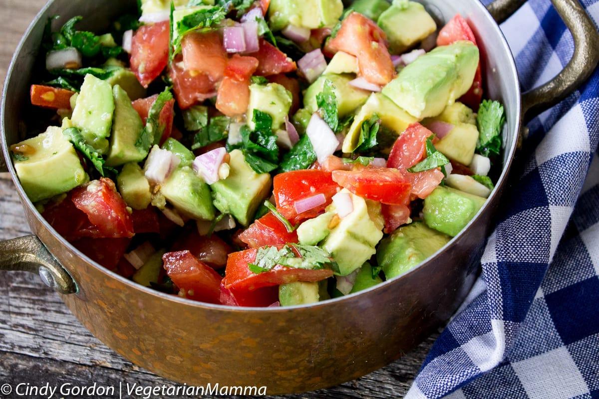Avocado Salsa Perfect for Snacking