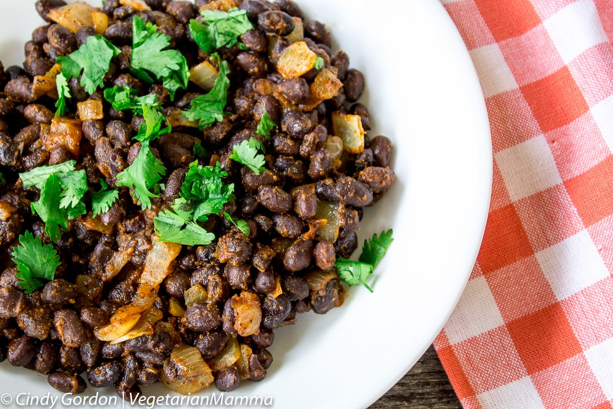 Easy Southwest Seasoned Black Beans