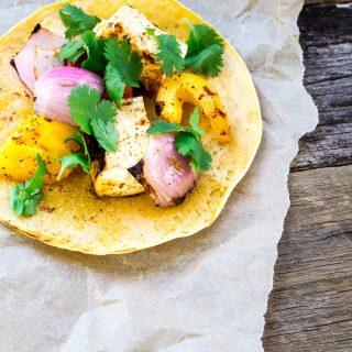 Fajita Tofu Kabobs – make your grilling exciting!