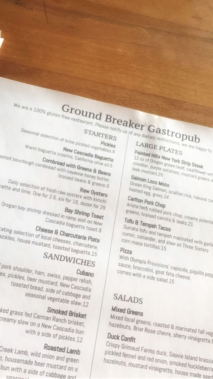 Ground Breaker Brewing - dedicated gluten-free beer