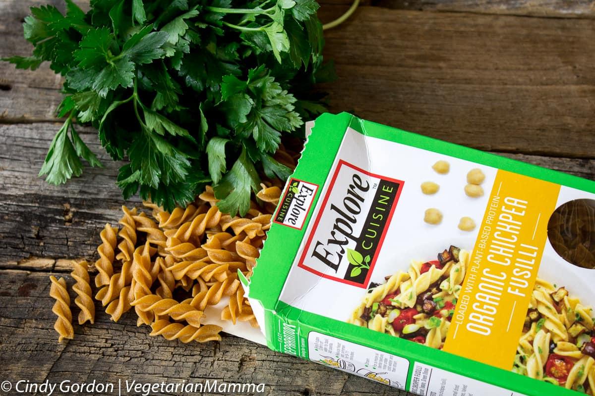 Mediterranean Pasta Casserole Gluten Free and Vegetarian