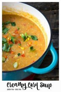 Creamy Corn Soup pin 2