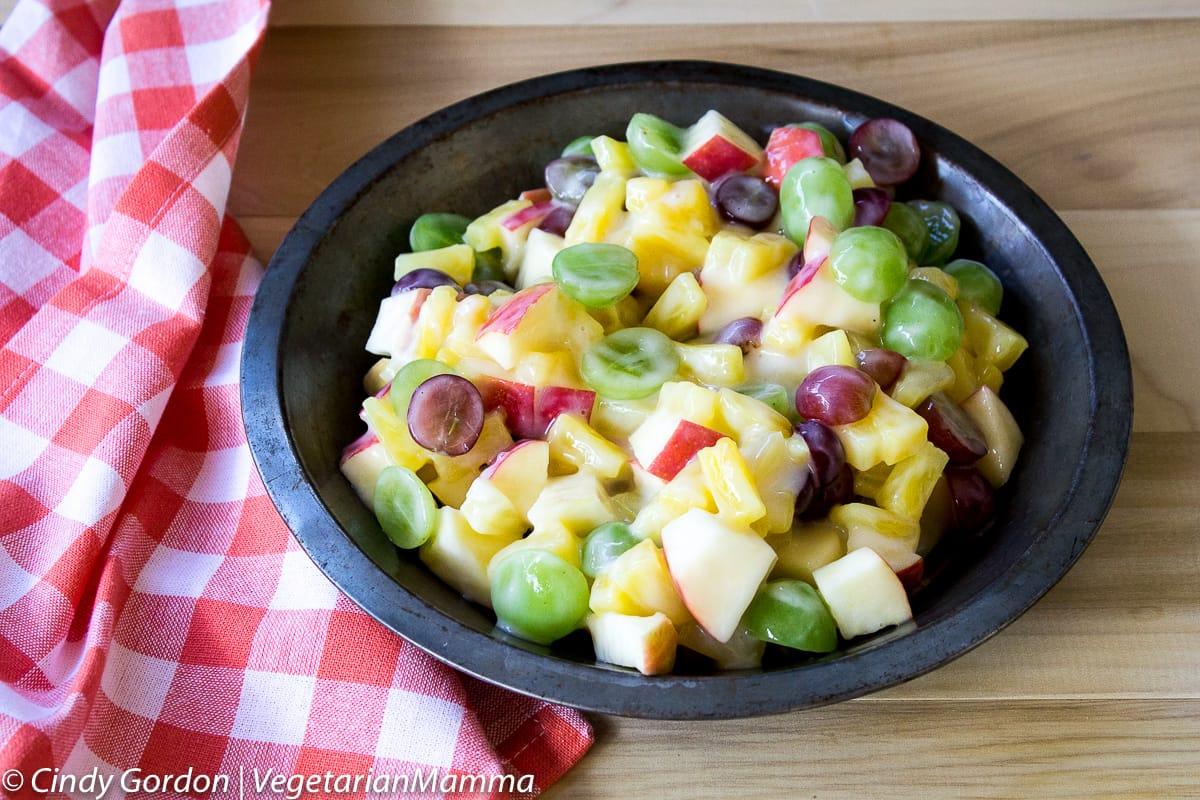 Creamy Grape Fruit Salad