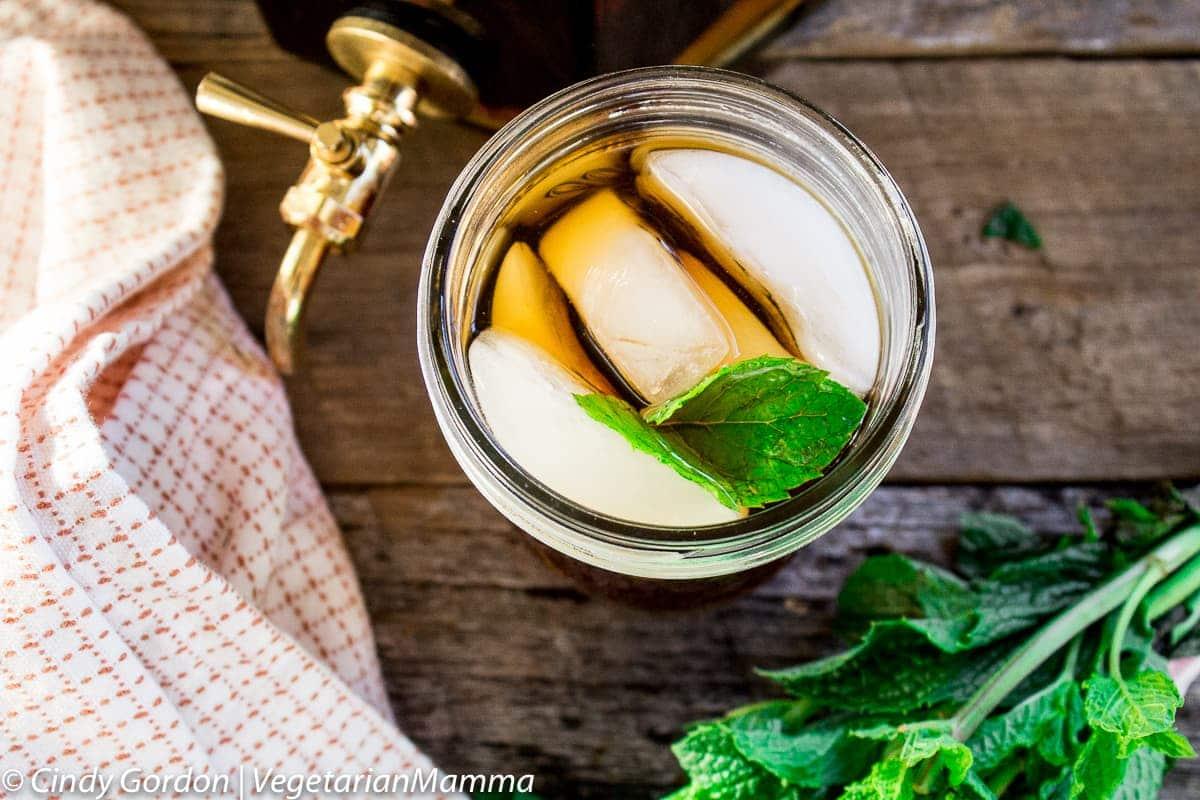 Ginger Lime Iced Tea