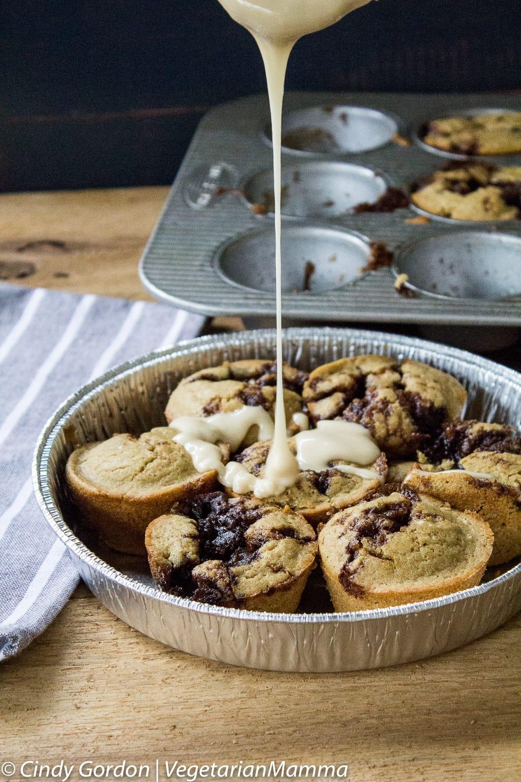 Gluten Free and Allergy Friendly Cinnamon Roll Muffins