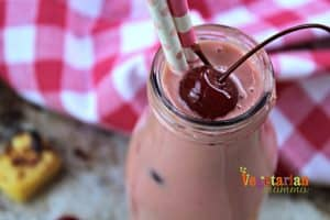 Roasted Pineapple Cherry Shake