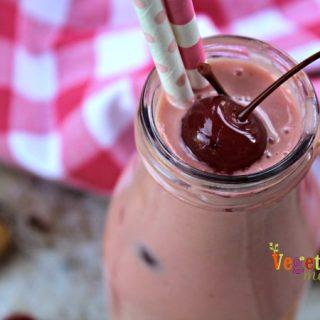 Roasted Pineapple Cherry Shake