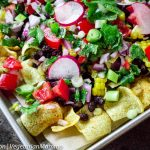 Loaded Plentils Nachos – snack or meal – you pick!