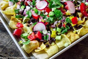 Loaded Plentils Nachos – snack or meal – you pick!