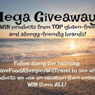 #HaveFoodAllergiesWillTravel Mega Giveaway