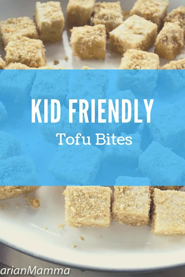 Kid Friendly tofu bites