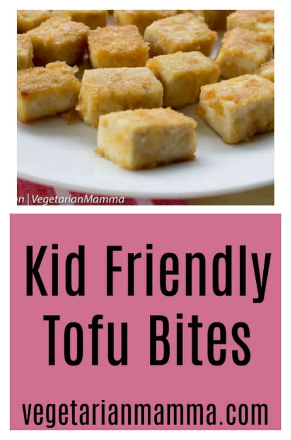 Kid-Friendly Tofu Bites are the perfect meal for busy Back To School nights. These tofu bites are kid-approved. #babytofu