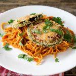 Gluten Free Eggplant Parmesan