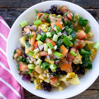 Southwest Potato Bowl – The perfect lunch powerbowl!