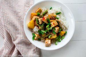 Sweet Thai Chili Tofu Bowls – featuring EZ Tofu Press
