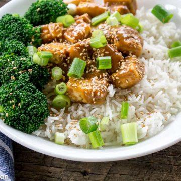 Sweet and Salty Tofu Bowls