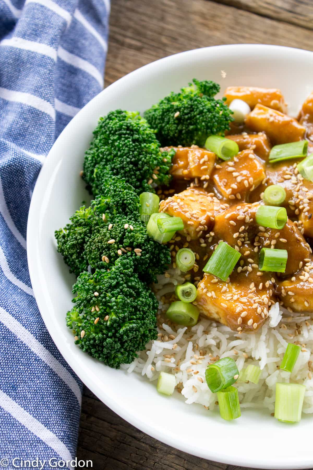 Sweet and Salty Tofu Bowls