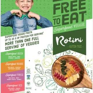 12 Days of Giving – Free to Eat Superfood Veggie Pasta