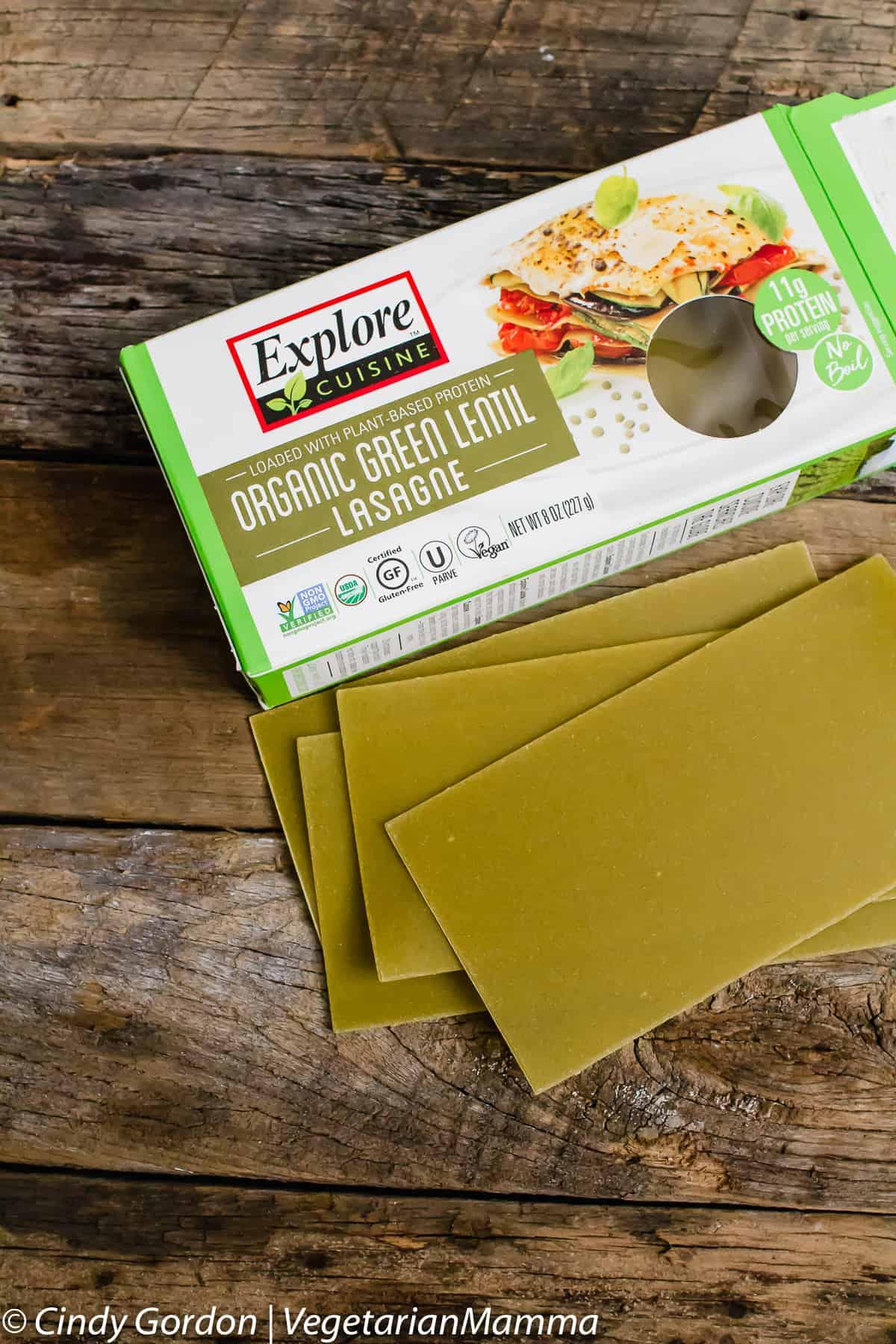 Explore Cuisine Lasagna Noodles