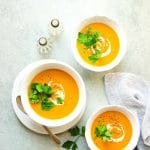 Roasted Carrot Bisque from Eat Dairy Free