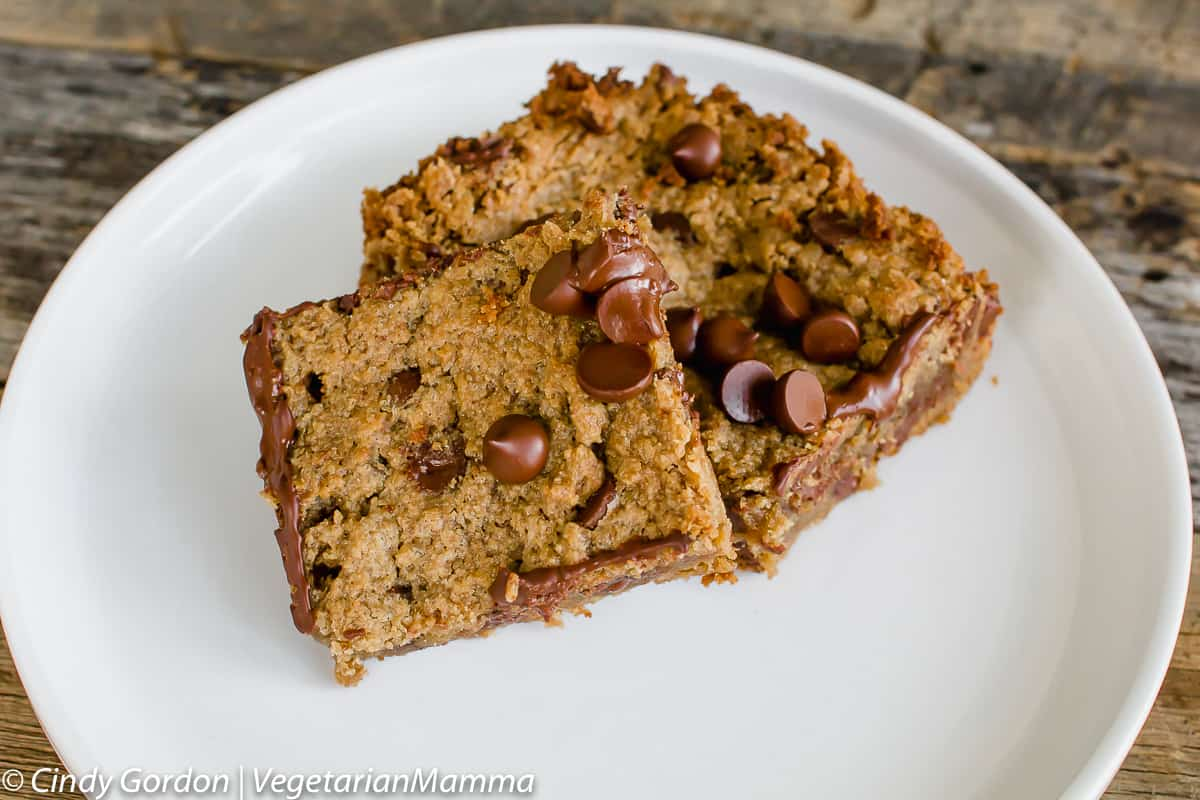 gluten free cookie bars
