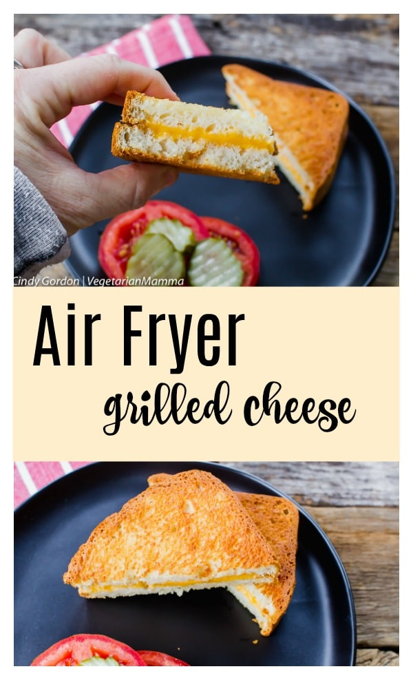 Air Fryer Grilled Cheese pin