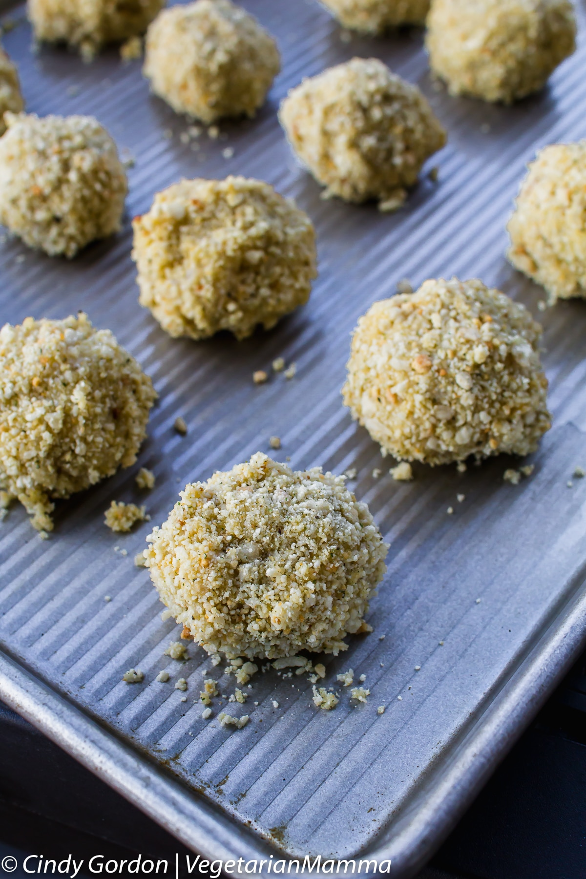 Air Fryer Risotto Balls