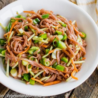Lunch Prep Recipe - Easy Asian Pasta Salad @