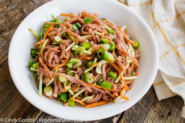 Lunch Prep Recipe - Easy Asian Pasta Salad @