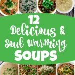 12 Delicious Soul Warming Vegetarian Soup Recipes