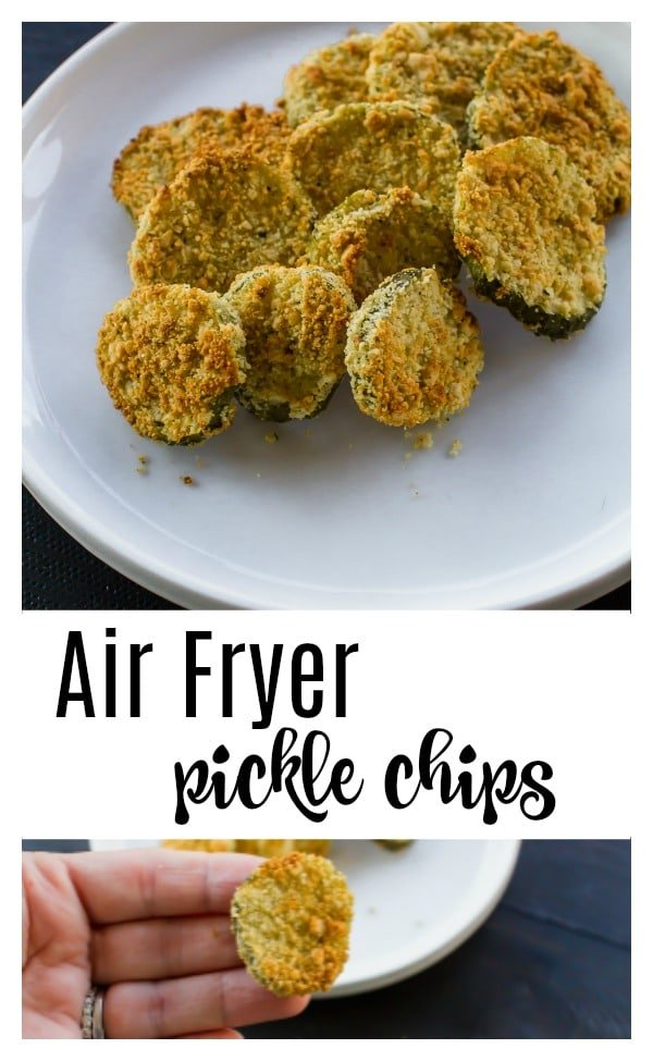 Air fryer pickle chips