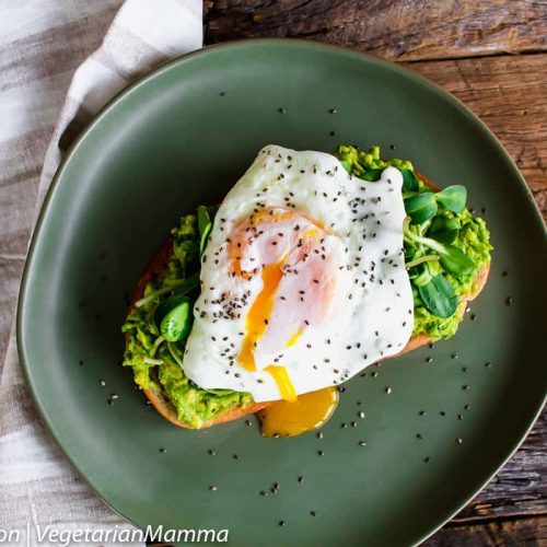 Fried Egg Avocado Toast