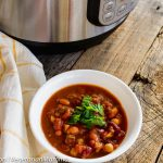 Instant Pot Four Bean Chili