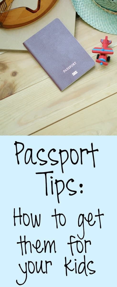 passport tips for kids