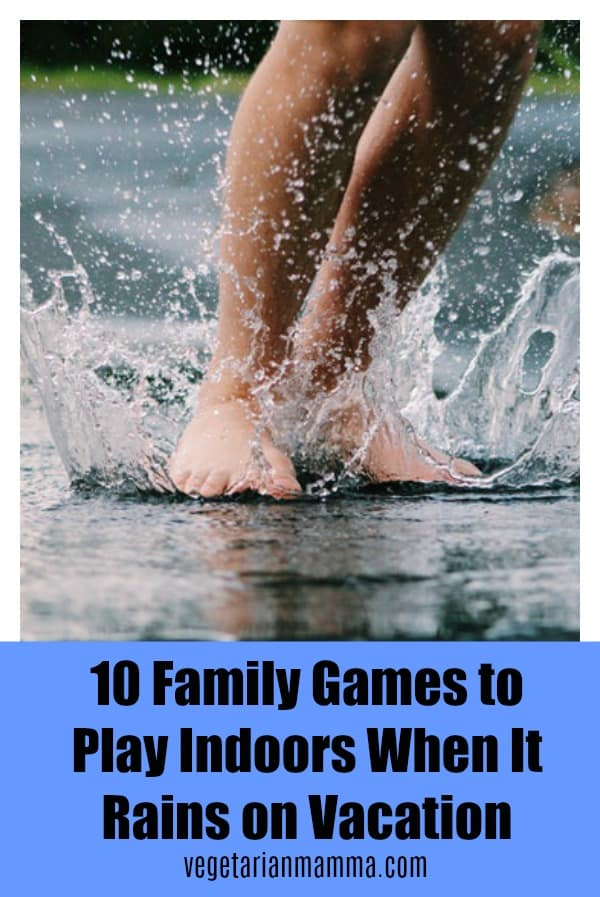 10 Family Games to Play Indoors When It Rains on Vacation