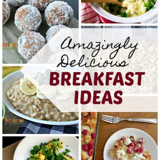 Collage of various Breakfast Ideas