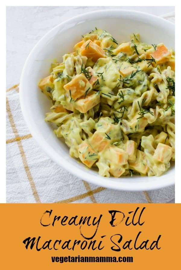 Creamy Dill Macaroni Salad