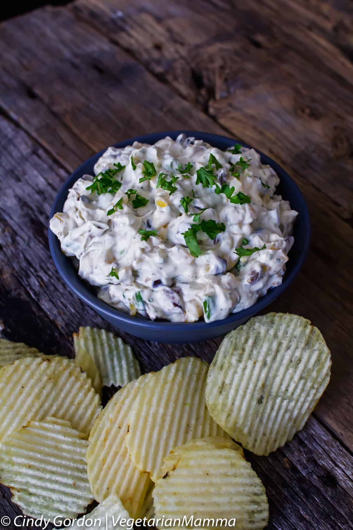 Easy Ranch Chip Dip