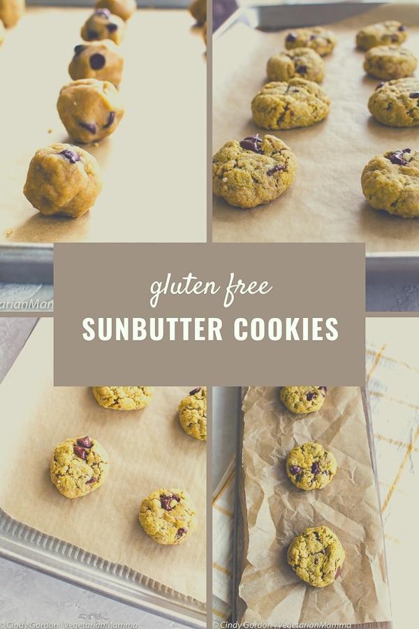 Soft Sunbutter Cookies