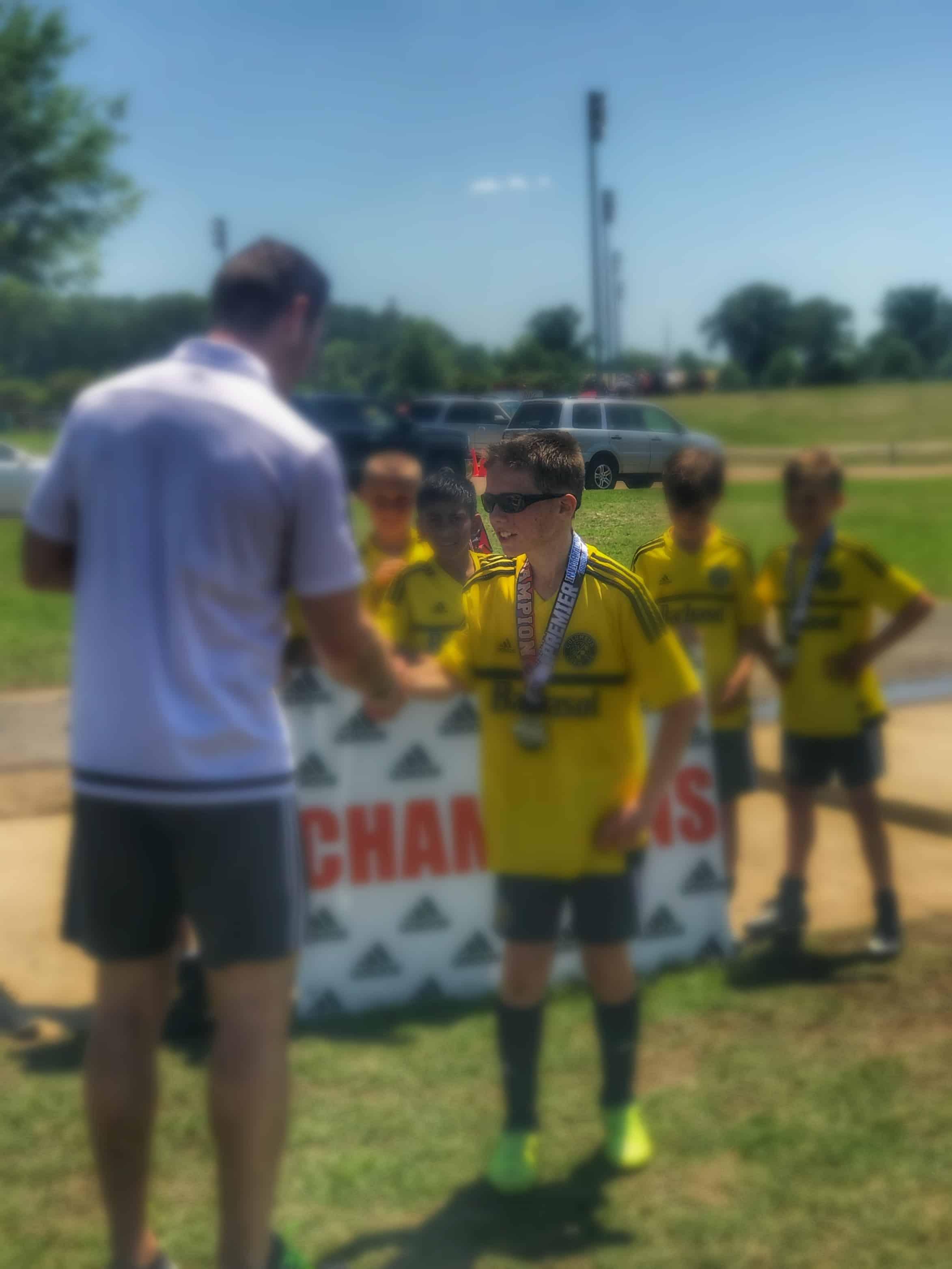 Soccer wins in Memphis TN