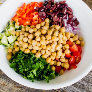 Mediterranean Salad recipe that is delicious.