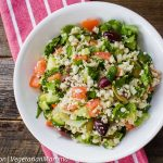 Simple and Delicious Cauliflower Tabbouleh