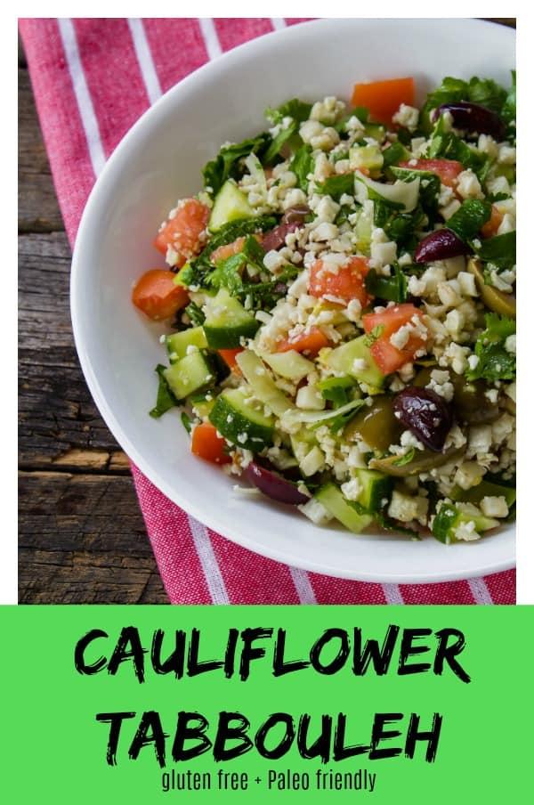 Cauliflower Tabbouleh pin