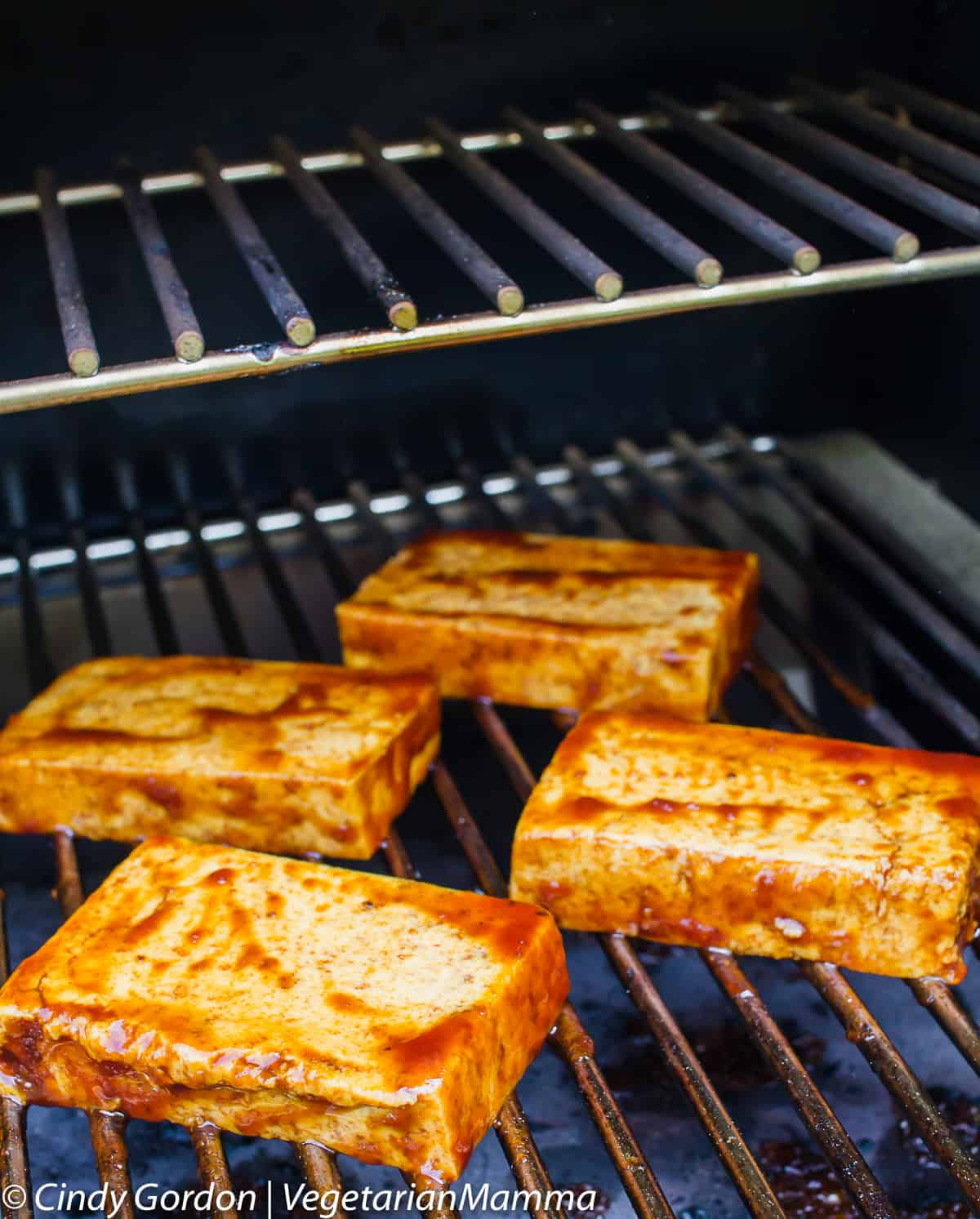Tip for grilling tofu for your grilled bbq tofu sandwich
