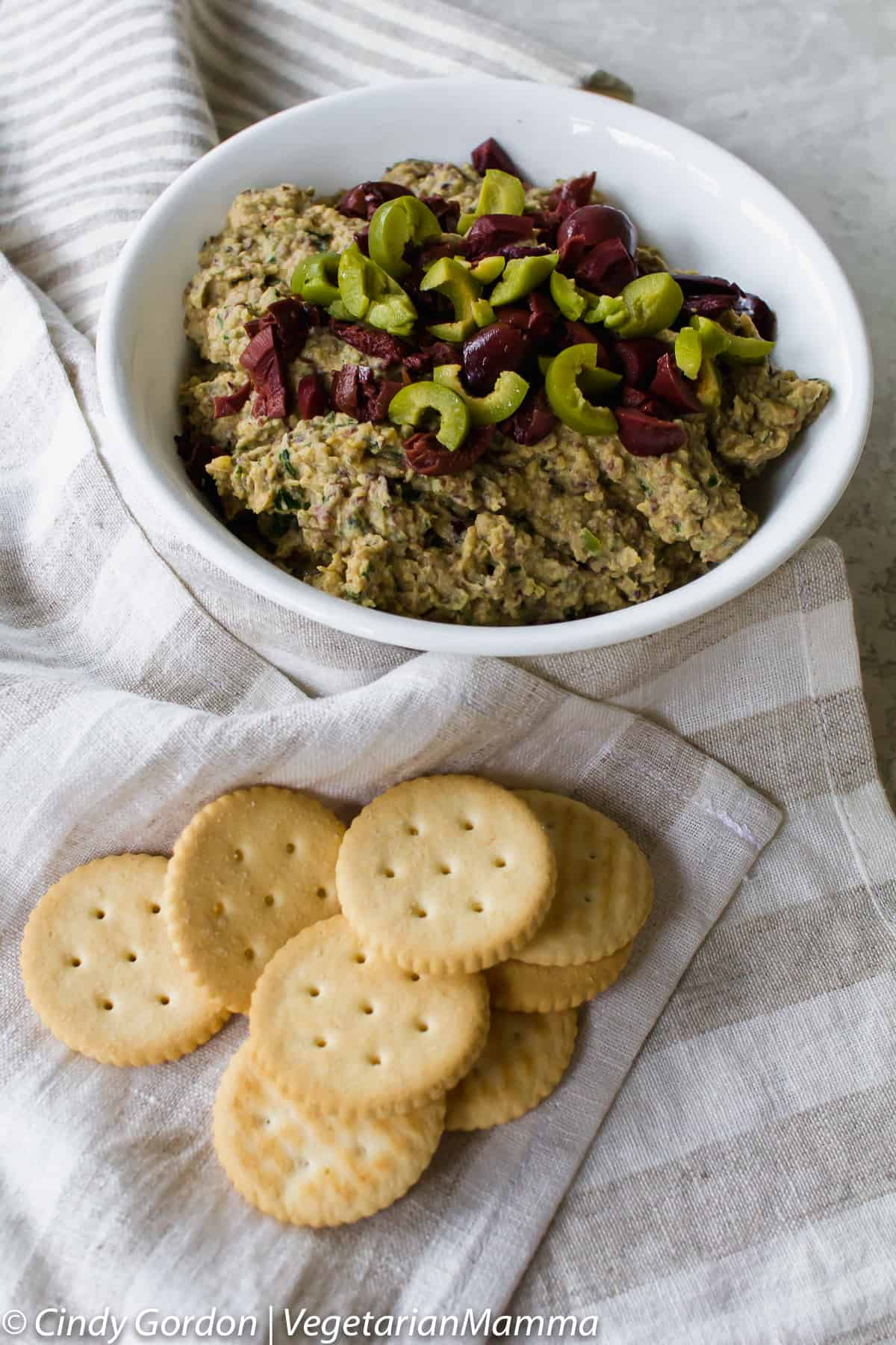 Simple Olive Tapenade recipe is the perfect olive appetizer.